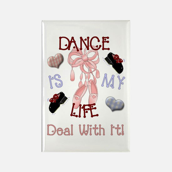 Dance Is My Life Rectangle Magnet (10 pack)