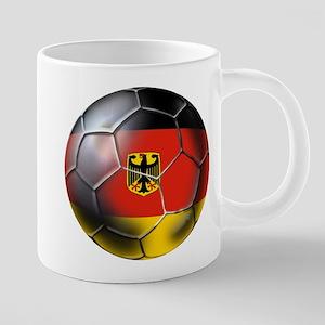 German Soccer Ball Mugs