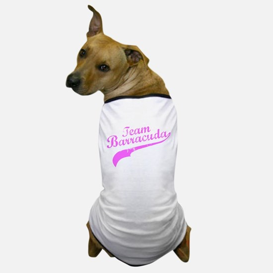 Pink Team Barracuda Dog T-Shirt