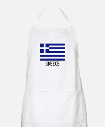 Greece Flag BBQ Apron