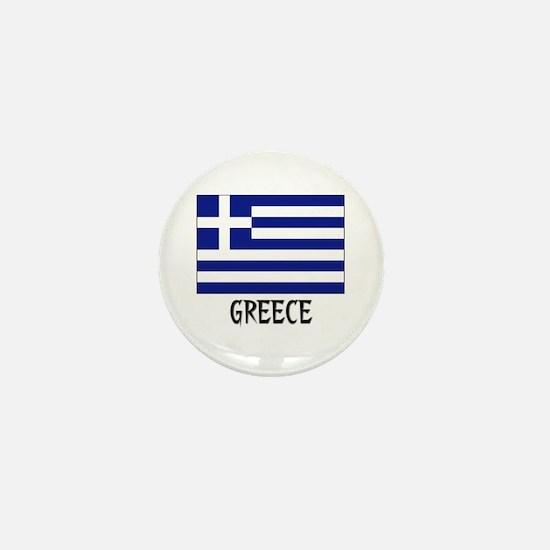 Greece Flag Mini Button