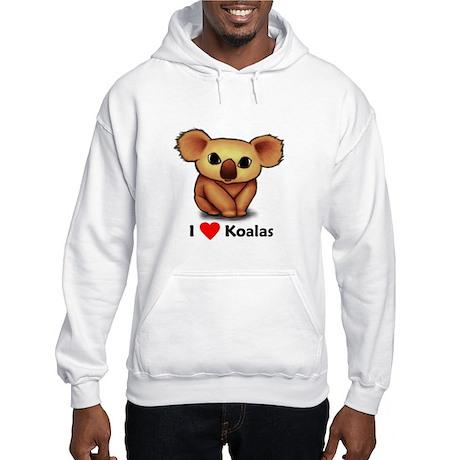 I love Koalas Hooded Sweatshirt