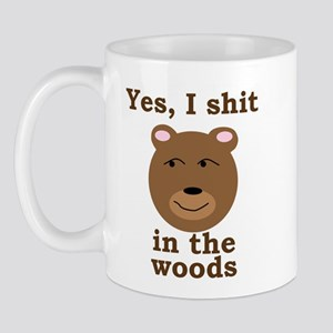 Does a bear shit in the woods? Mug