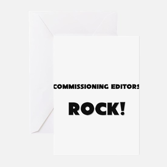 Commissioning Editors ROCK Greeting Cards (Pk of 1