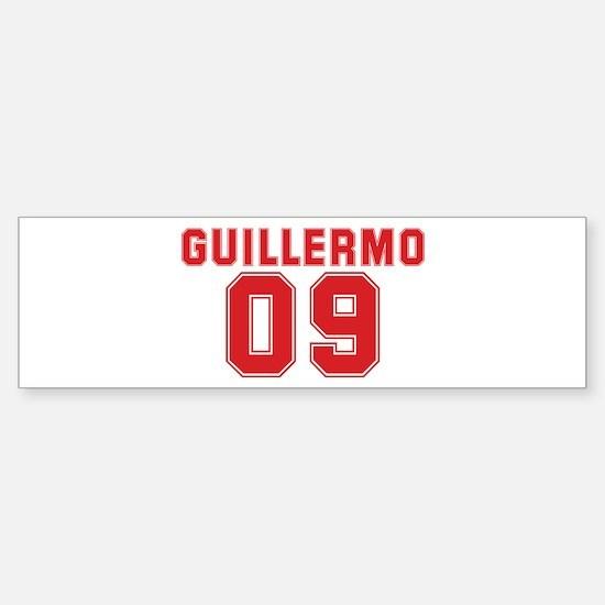 GUILLERMO 09 Bumper Bumper Bumper Sticker