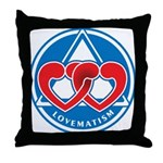 LOVEMATISM Throw Pillow