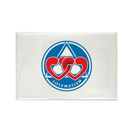 LOVEMATISM Rectangle Magnet (100 pack)