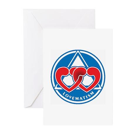 LOVEMATISM Greeting Cards (Pk of 10)