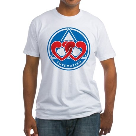 LOVEMATISM Fitted T-Shirt