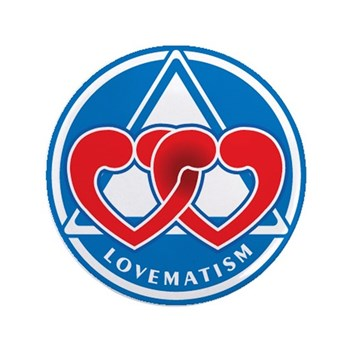 """LOVEMATISM 3.5"""" Button (100 pack)"""
