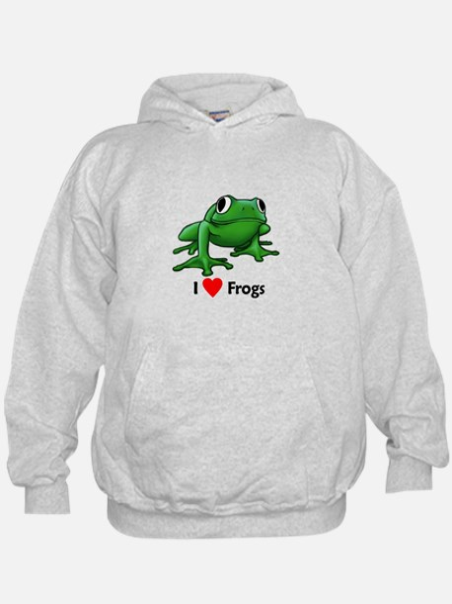 I love Frogs Hoody
