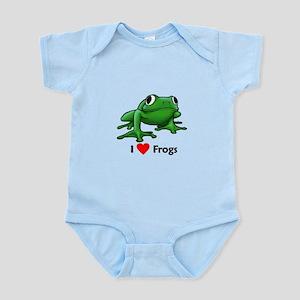 I love Frogs Infant Bodysuit