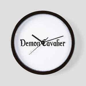 Demon Cavalier Wall Clock