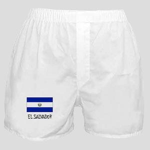El Salvador Flag Boxer Shorts