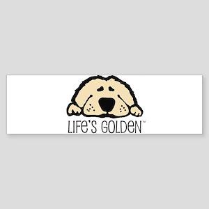 Life's Golden Bumper Sticker