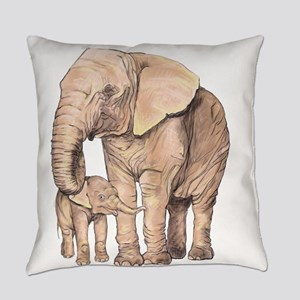 Mother and Child Everyday Pillow