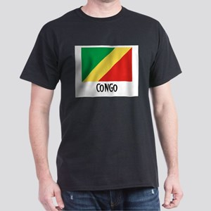 Congo Flag Dark T-Shirt