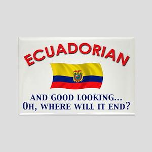 Good Lkg Ecuadorian 2 Rectangle Magnet