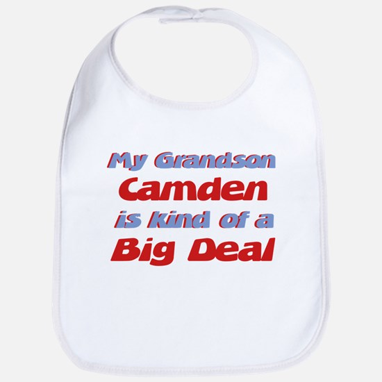 Grandson Camden - Big Deal Bib