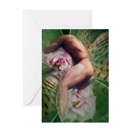 Male nude greeting cards