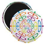 Peace Symbols Magnet