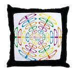 Peace Symbols Throw Pillow