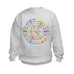 Peace Symbols Kids Sweatshirt