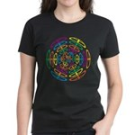 Peace Symbols Women's Dark T-Shirt