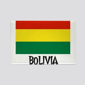 Bolivia Flag Rectangle Magnet