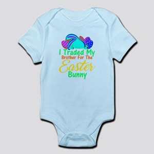 I Traded My Brother For The Easter Bunn Body Suit
