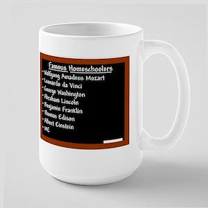 """""""Famous Males"""" Large Mug"""