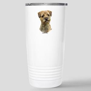 Border Terrier 9A21D-19 Stainless Steel Travel Mug