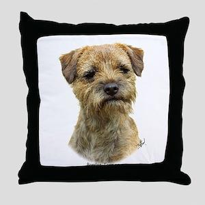 Border Terrier 9A21D-19 Throw Pillow