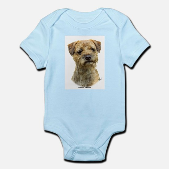 Border Terrier 9A21D-19 Infant Bodysuit