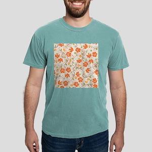 Seamless Flower Pattern T-Shirt