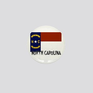North Carolina Flag Mini Button