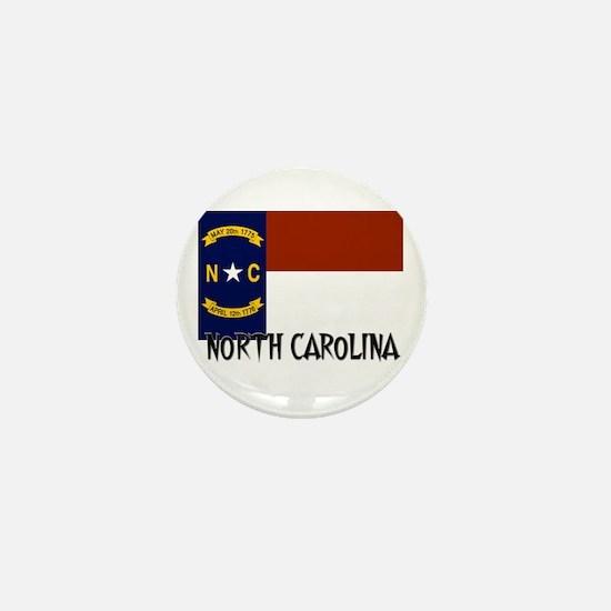 North Carolina Flag Mini Button