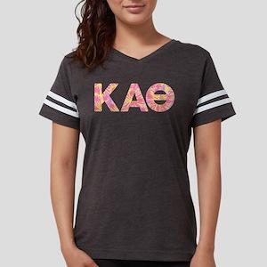Kappa Alpha Theta Pink Womens Football Shirt