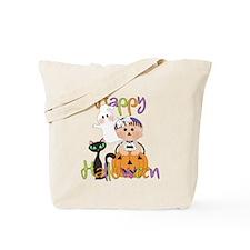 Halloween Pumpkin Baby Tote Bag