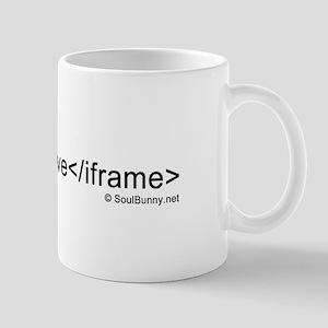i love iframes Mug