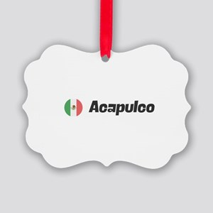 Acapulco Picture Ornament