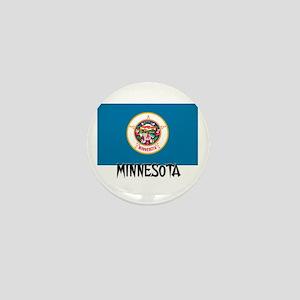 Minnesota Flag Mini Button