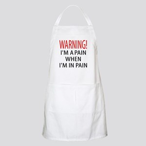 A Pain When in Pain BBQ Apron