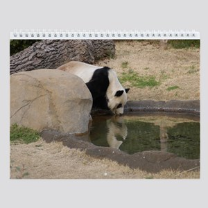 Giant Panda 006 Wall Calendar