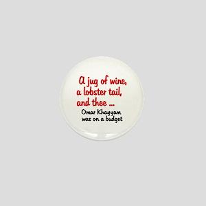 Jug of Wine Mini Button
