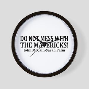 The Mavericks Wall Clock