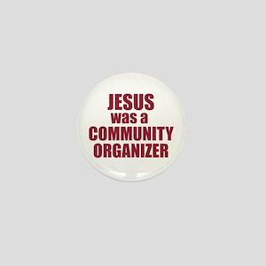 Jesus : Community Organizer Mini Button