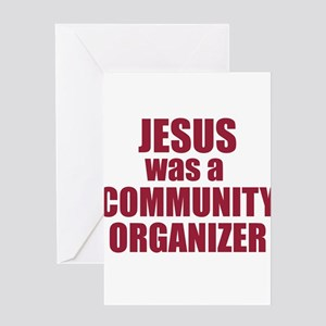 Jesus : Community Organizer Greeting Card