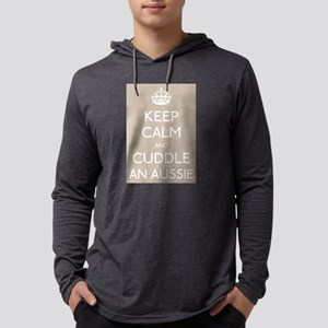 Keep calm and cuddle an aussie Long Sleeve T-Shirt