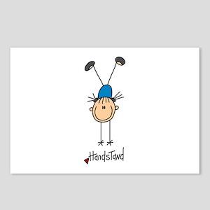 Gymnastics Handstand Postcards (Package of 8)